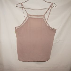 Kendall & Kylie pink tank top